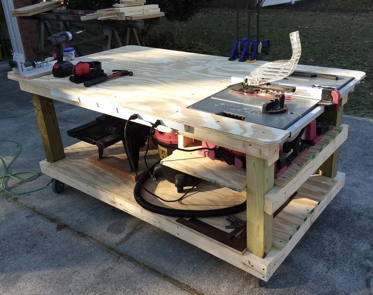 DIY Carpentry: Skil Table Saw